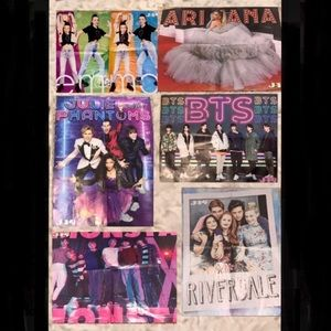 J-14 Poster Bundle New In Perfect Condition